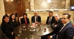 Türk Eximbank Genel Müdürü Adnan Yıldırım, Avrupalı Türk Markalar Birliği Yemeğinde