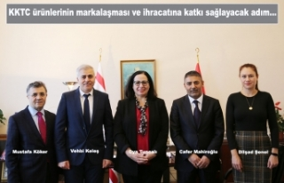 Avrupalı Türk Markalar Birliği'nden KKTC'ye...