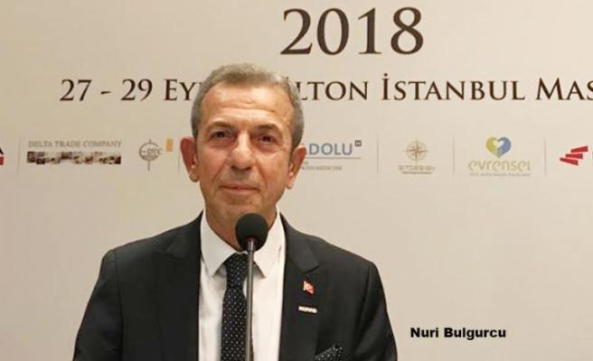 İş Adamı Nuri Bulgurcu'ya 'Örnek Kıdemli Vatandaş' Ödülü