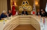 Kırgızistan Enerji ve Sanayi Bakanı Bekmurzayev'den MASİS'e ziyaret