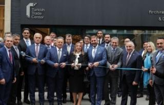 Londra'da Türk Ticaret Merkezi Bakan Ruhsar Pekcan...