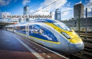 Eurostar ile Amsterdam – Londra direkt seferleri...