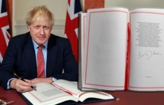 İngiltere Başbakanı Boris Johnson Brexit Anlaşmasını...