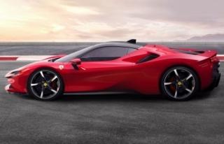 "Ferrari SF90 Stradale, 2020 ""altın ödül""ün..."