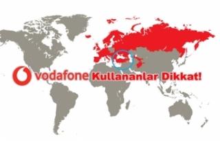 Vodafone'ın Türkiye'yi Çıkarmasına Tepki...