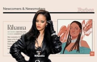 Rihanna, Forbes'in Kendi Girişimiyle Zengin...