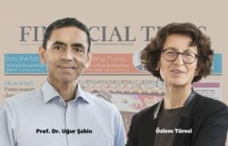 """Financial Times'ın """"Yılın Kişisi Ödülü""""..."""