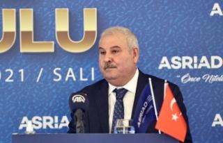 Adnan Danışman, yeniden ASRİAD Genel Başkanı