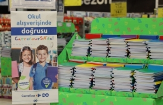 CarrefourSA yeni kırtasiye ürünlerini müşterilerin...