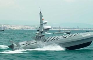 Türkiye'nin insansız deniz aracı sürüsü...