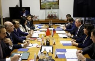 Bakan Dönmez, Rusya Enerji Bakanı Şulginov ve Gazprom...