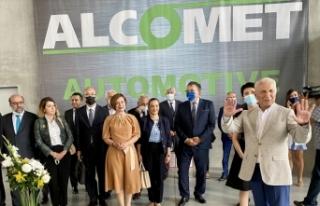 Bulgaristan'da Alcomet yeni üretim tesisini...