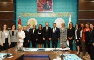 TİM Kadın Konseyi Ticaret Bakanı Mehmet Muş ile...