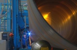 Yurt dışındaki büyük projelerin çelik tedarikinde...