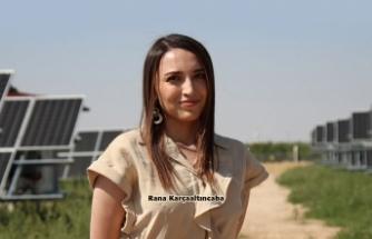 Kadın girişimci Karçaaltıncaba 4 yerin elektriğini üretiyor