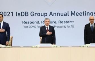 İslam Kalkınma Bankası Toplantısı Özbekistan'da yapıldı
