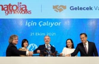 Gong, Anatolia Geneworks ve Gelecek Varlık Yönetimi için çaldı