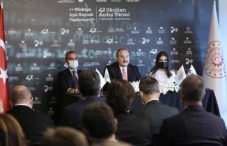 Bakan Varank, yeni nesil yazılım okullarını açtı