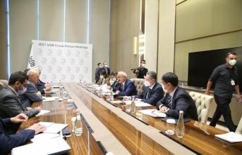 Bakan Elvan, İslam Kalkınma Bankası yönetimiyle görüştü