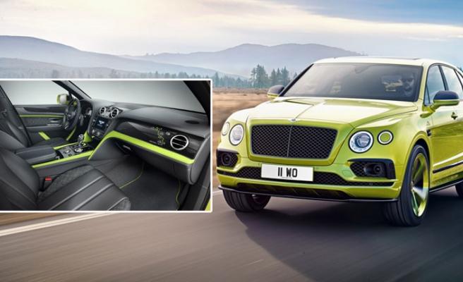 Rekortmen Bentley Bentayga'dan Sadece 10 Adet Üretilecek