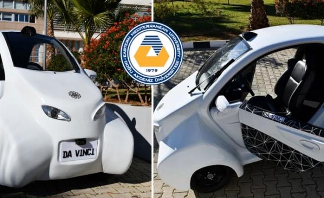 KKTC, Yerli Elektrikli Otomobili Da Vinci'yi Tanıttı