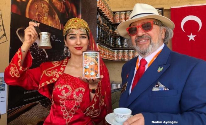 """Körfez Kültür Festivali """"Türk Obası""""nda Türk Kahvesi"""