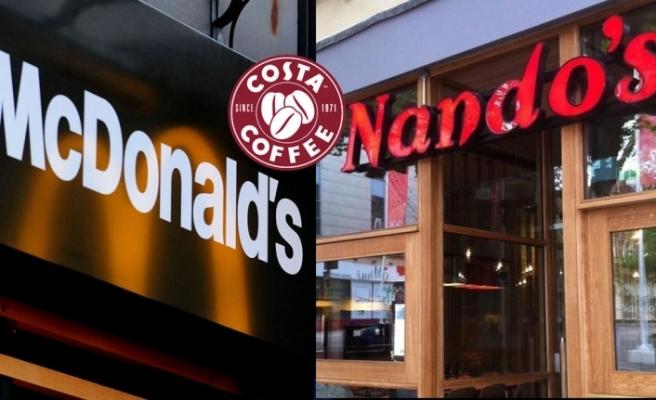 İngiltere'de restoran zincirleri kapısına kilit vuruyor