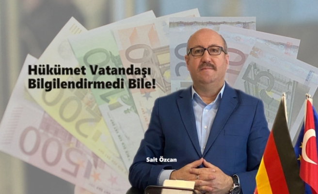 Avrupalı Türklerin Mali Veri Paylaşımına Tepkiler Yükseliyor