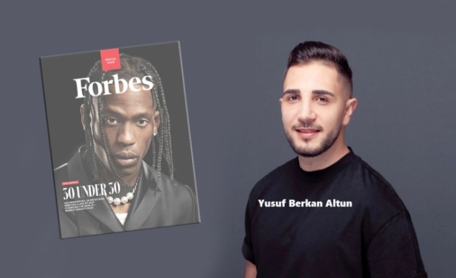 Yusuf Berkan Altun, Forbes'in en genç Türk üyesi oldu