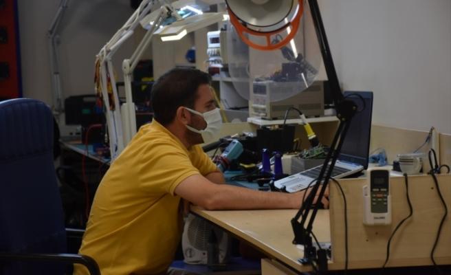 Akıllı süpürgeden ilham alıp, yerli yük taşıma robotu geliştirdi