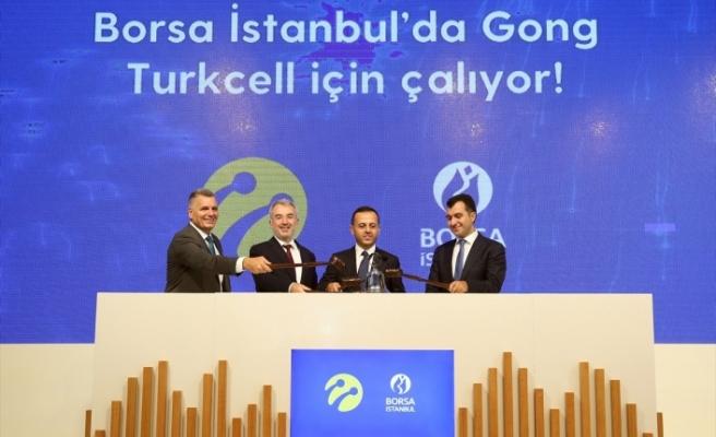 """Borsa İstanbul'da gong """"Turkcell"""" için çaldı"""