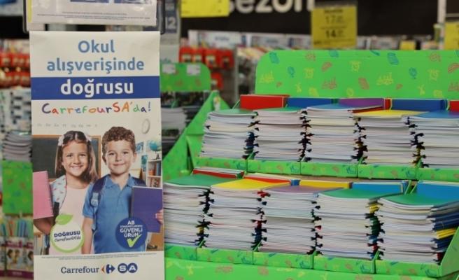 CarrefourSA yeni kırtasiye ürünlerini müşterilerin beğenisine sunuyor