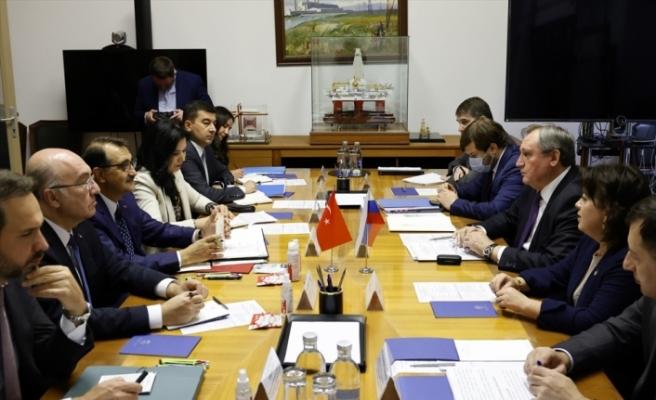 Bakan Dönmez, Rusya Enerji Bakanı Şulginov ve Gazprom Başkanı Miller ile görüştü