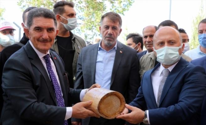 """Geven balının tanıtıldığı """"Ağrı 4. Bal Festivali"""" başladı"""