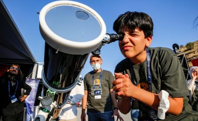 Diyarbakır Zerzevan Gökyüzü Gözlem Etkinliği başladı