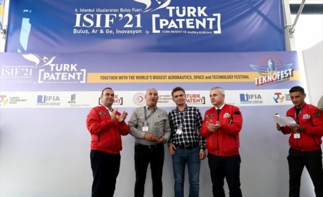 TEKNOFEST'te 6. İstanbul Uluslararası Buluş Fuarı Ödül töreni