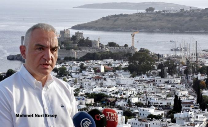 Kültür ve Turizm Bakanı Ersoy'dan Mektup Diplomasisi